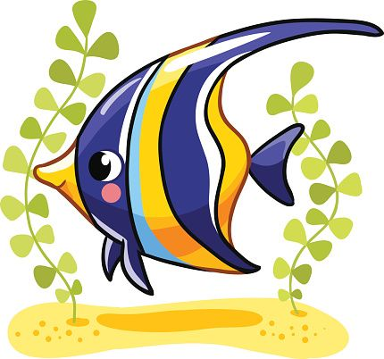 430x402 Angelfish Clipart Luxury Cartoon Angel Fish Angelfish Clipart