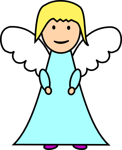 486x600 Baby Angel Clipart