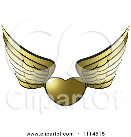 450x470 Pretty Angel Wing Clip Art