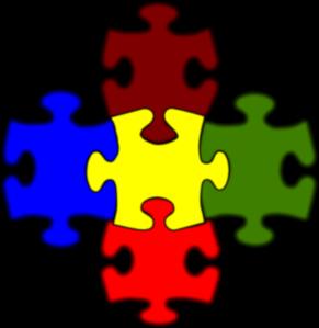 291x299 Jigsaw White Puzzle Piece Large Clip Art