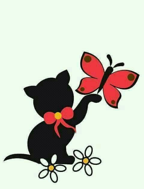 480x631 Pin By Bruna Angela On Animais Fofos Clip Art, Cat