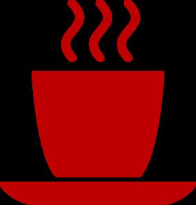 285x298 Red Coffee Mug Clip Art