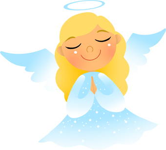 340x307 Angel Clipart Cute