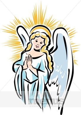 Angels And Shepherds Clipart