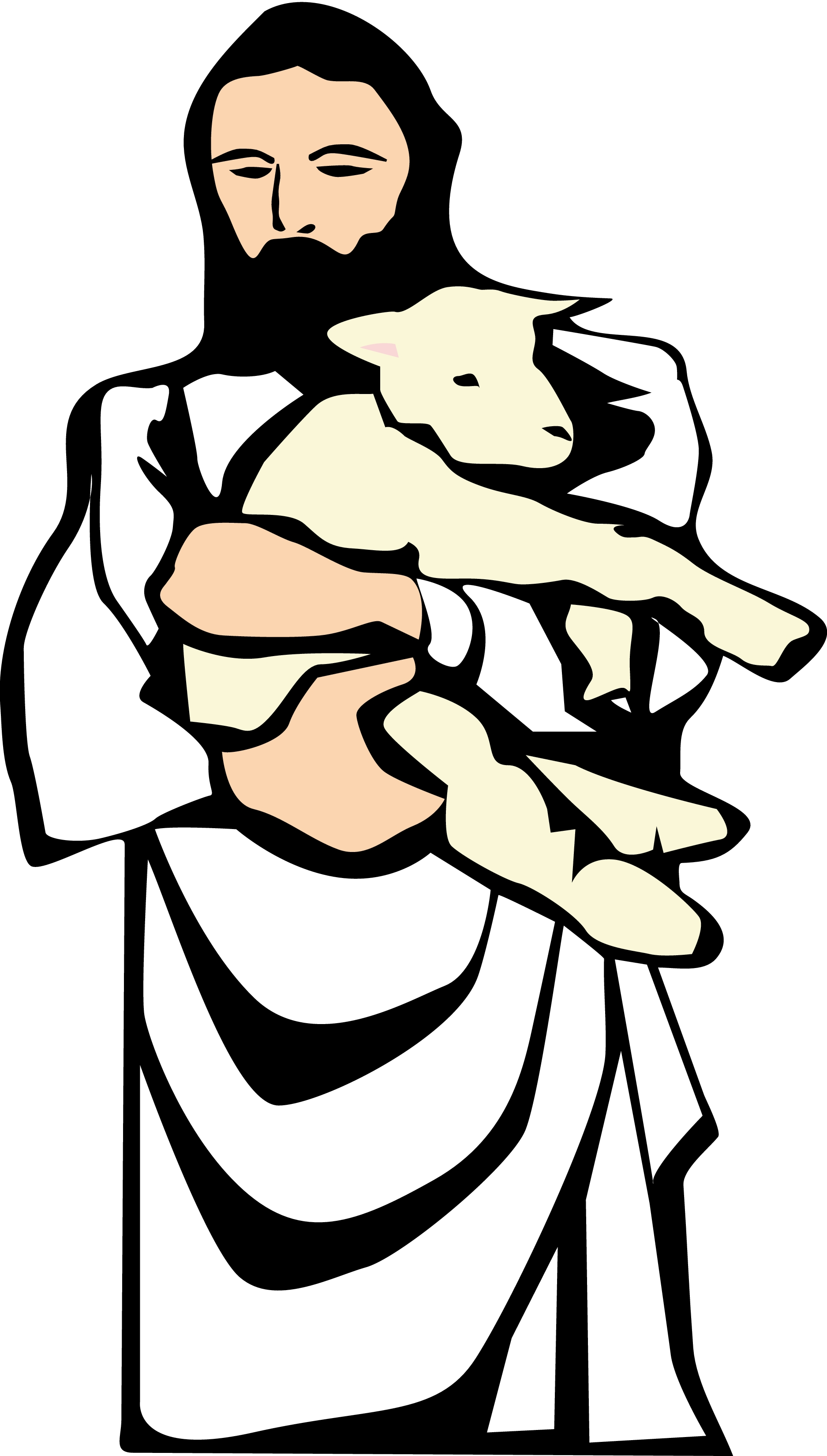 1875x3300 Clip Art The Lord Is My Shepherd Clip Art