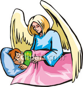 285x300 A Guardian Angel And A Sleeping Child
