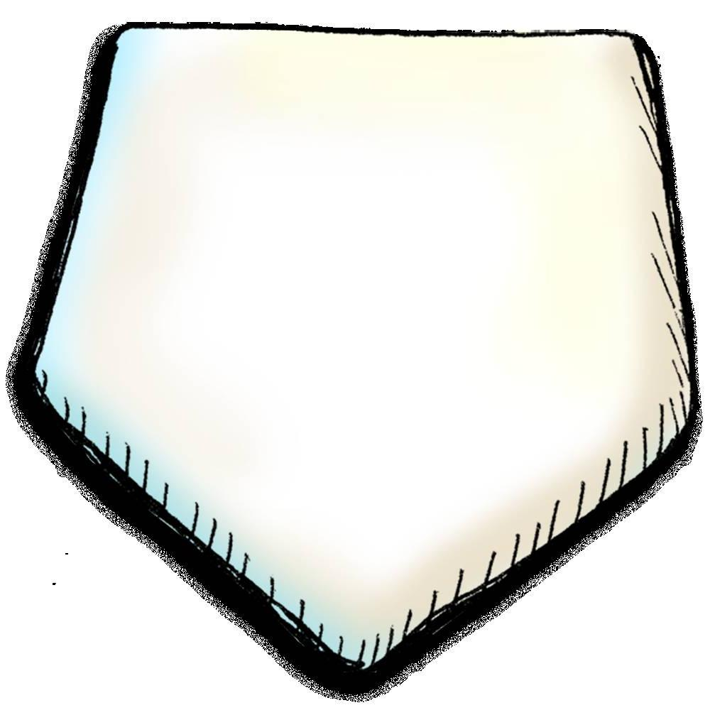 1000x1000 Best Free Baseball Bases Clip Art File Free Vector Graphic Images