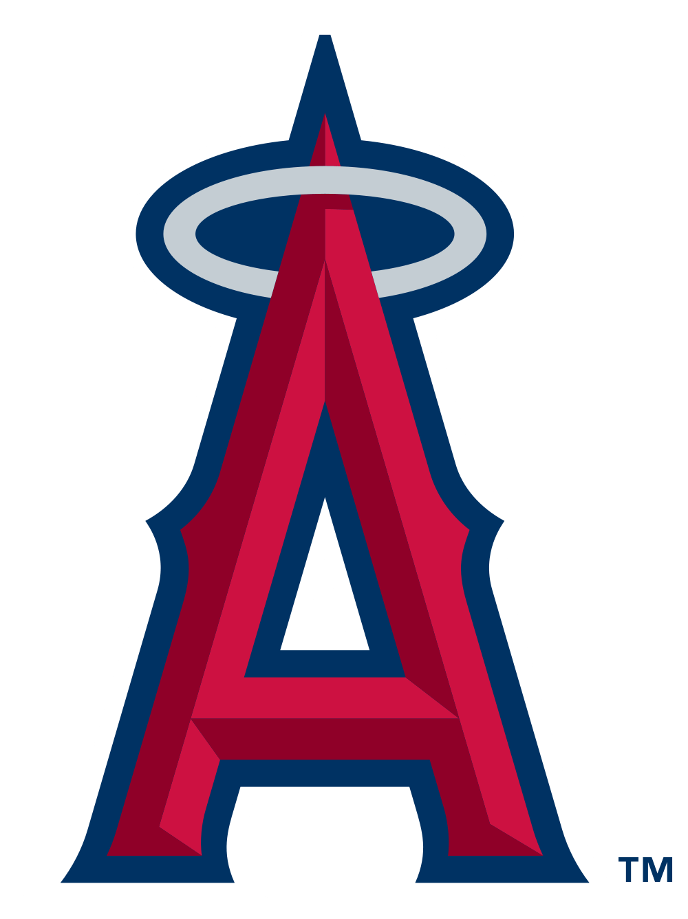 1000x1337 Los Angeles Angels Of Anaheim Logo Transparent Png