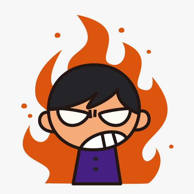 625x624 Cartoon Angry Boy, Cartoon Boy, Anger, Cartoon Png Image