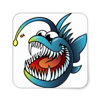 324x324 Anglerfish Clipart Cute