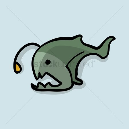 450x450 Free Angler Fish Stock Vectors Stockunlimited