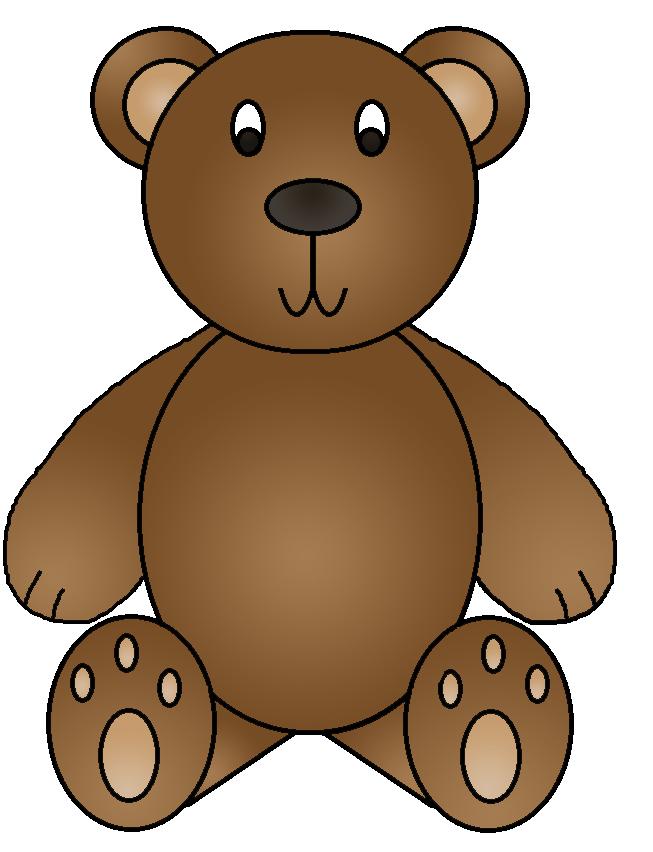 653x852 Bear Clipart