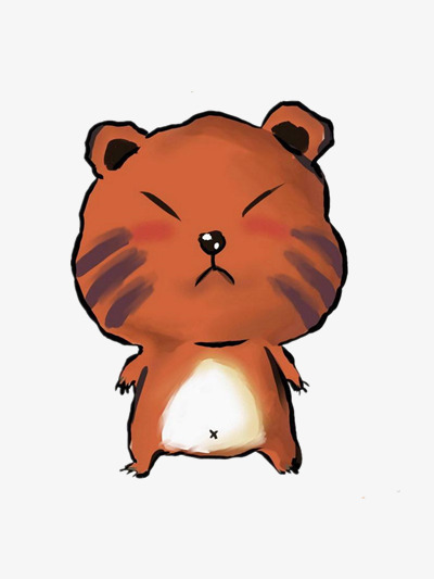 400x533 Angry Bear, Brown, Lovely, Cartoon Png Image And Clipart For Free