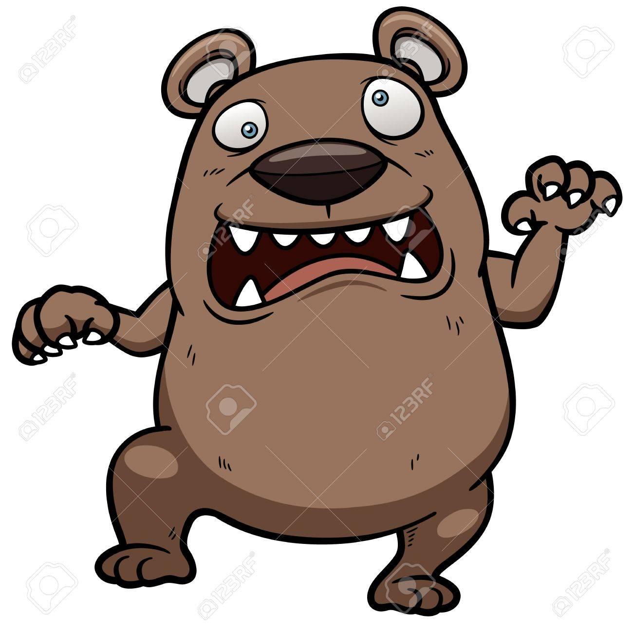 1300x1300 Angry Cartoon Bear Group