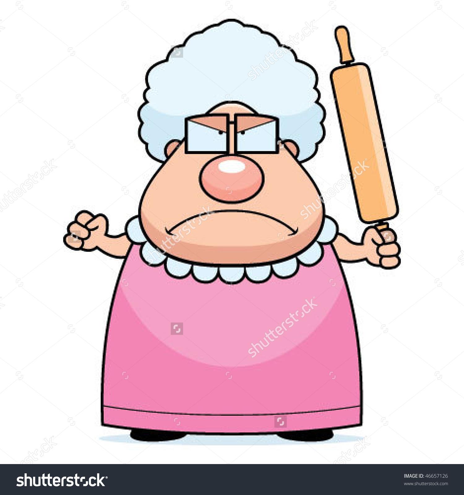 1500x1600 Angry Grandma Clipart Amp Angry Grandma Clip Art Images