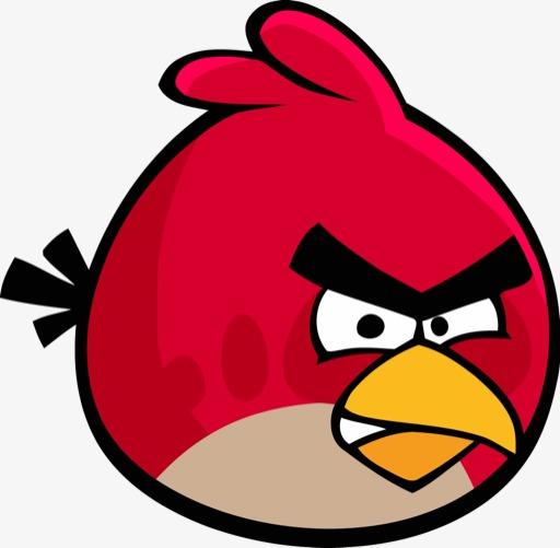 512x501 Angry Birds Red Bird Angry Birds, Angry, Birds, Angry Bird Png