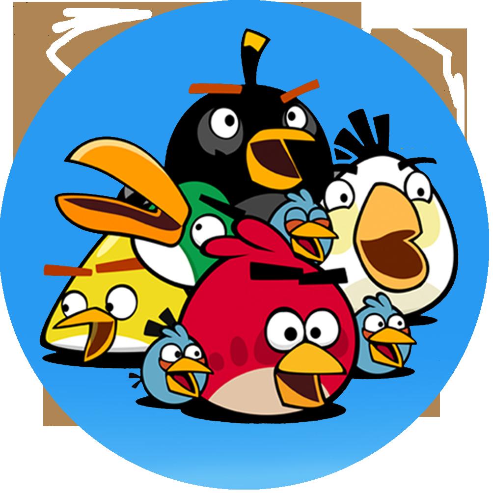 1004x1004 Angry Birds Star Wars Cartoon Clip Art