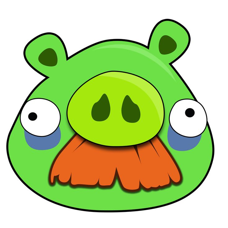 736x736 Angry Birds Pig Face Angry Birds Clipart Page 6 Clipart Ideas