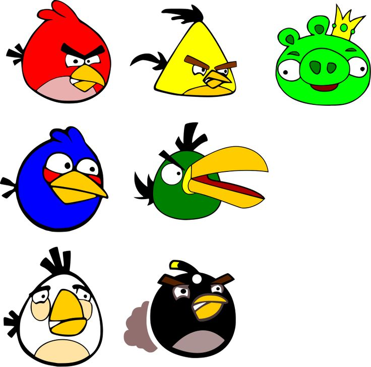 736x728 9 Best Paintable Images On Bird Party, Angry Birds