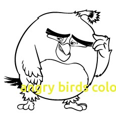 230x230 Angry Birds Coloring Pages With Angry Birds Coloring Pages