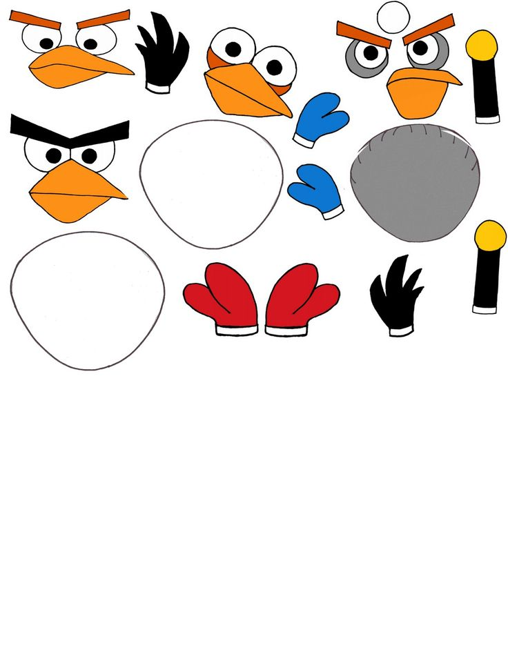 736x958 Birthday Clipart Angry Bird
