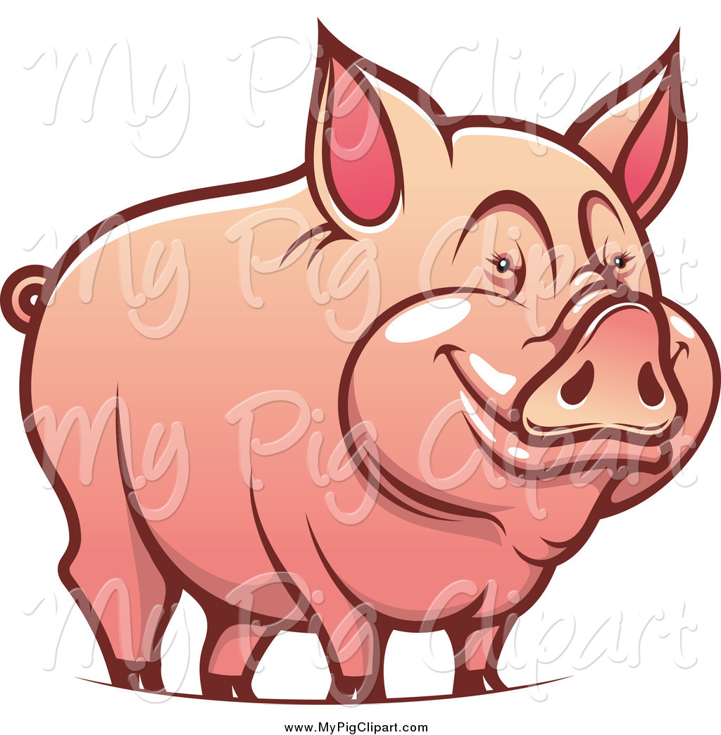 1024x1044 Collection Of Happy Pig Clipart High Quality, Free Cliparts