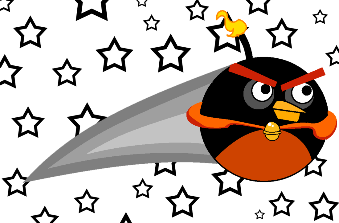 1100x726 Angry Birds Space Bird Bomb Galatic By Zekependroids