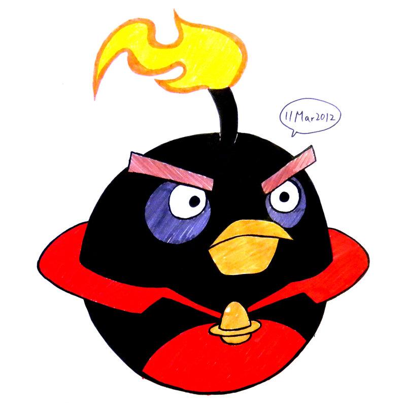 800x800 Space Black Bird By Riverkpocc