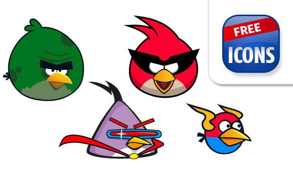 600x350 Vector Angry Birds Download Free Vector Art Free Vectors