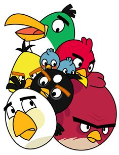 235x305 Angry Birds Toons Angry Birds