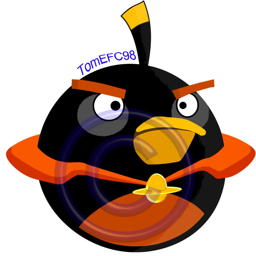894x894 Angry Birds Black Bird Space [Super High Quality] By Tomefc98
