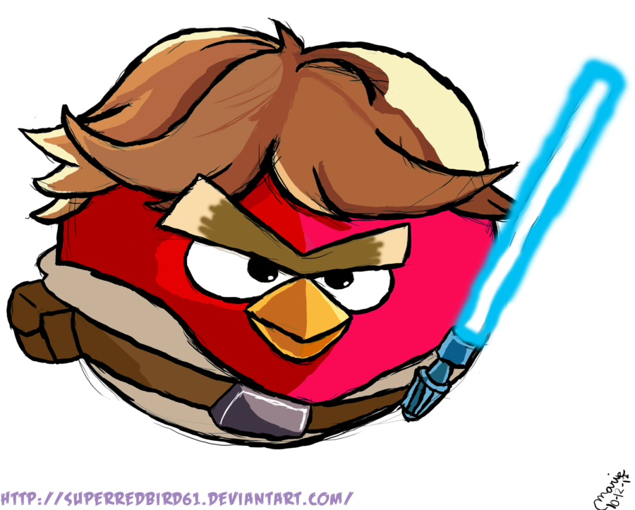 900x723 Angry Birds Star Wars Fan Art By ~superredbird61