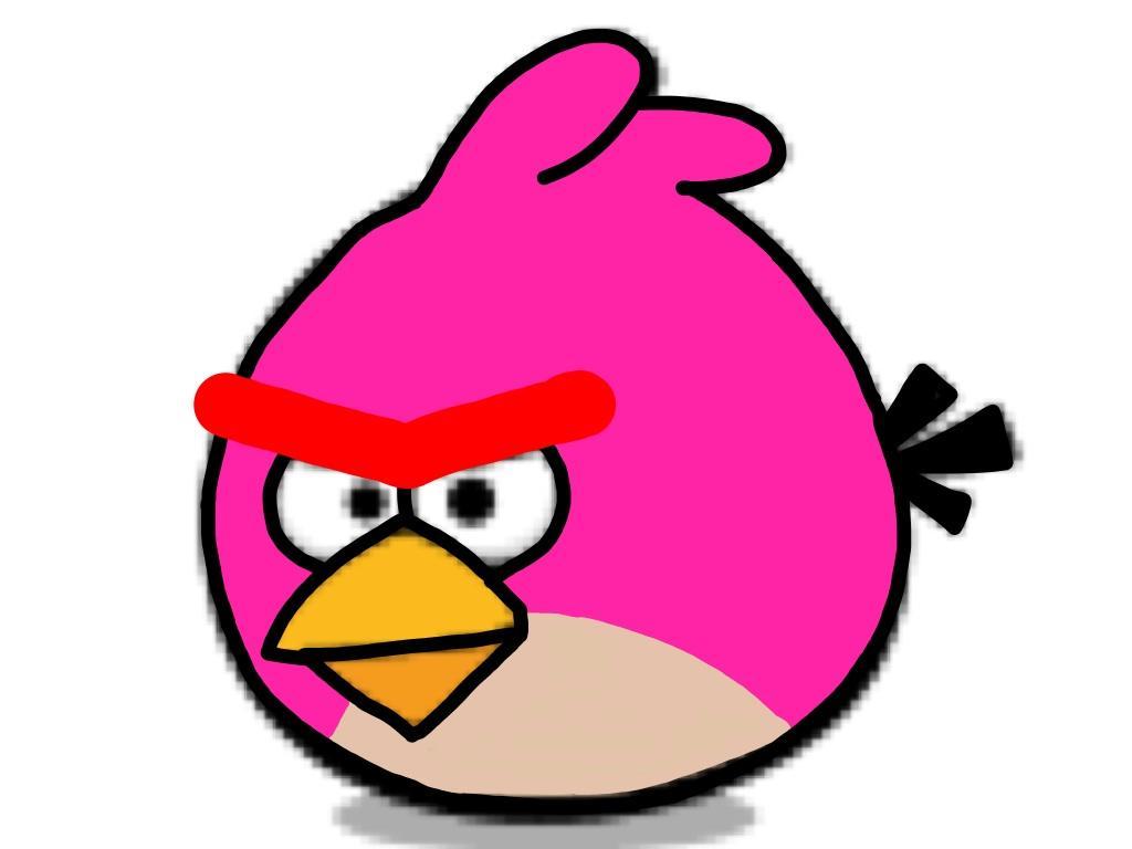 1024x768 Superb Angry Birds Clipart Stella Star Wars Clip Art Bird