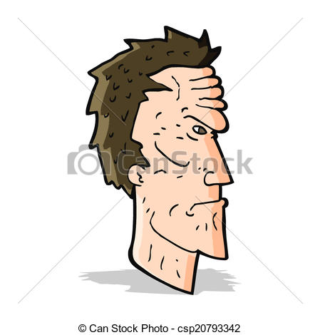 449x470 Cartoon Angry Face Eps Vector