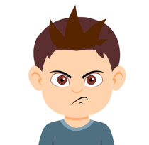 210x204 Collection Of Angry Boy Face Clipart High Quality, Free