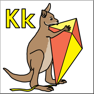 304x304 K Is For Kangaroo