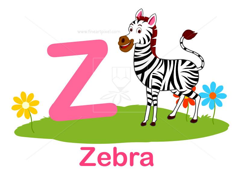 800x582 Animal Alphabet Z Free Vectors, Illustrations, Graphics, Clipart