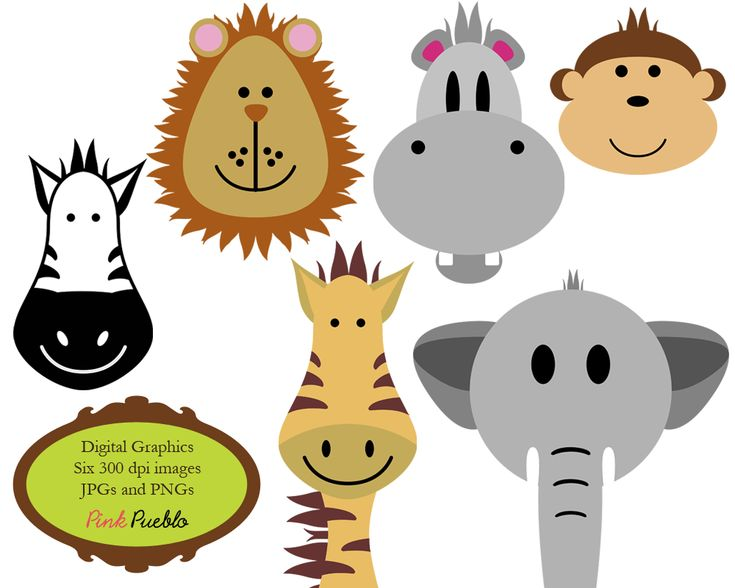 735x588 9 Best Jungle Clip Art Images On Jungle Animals