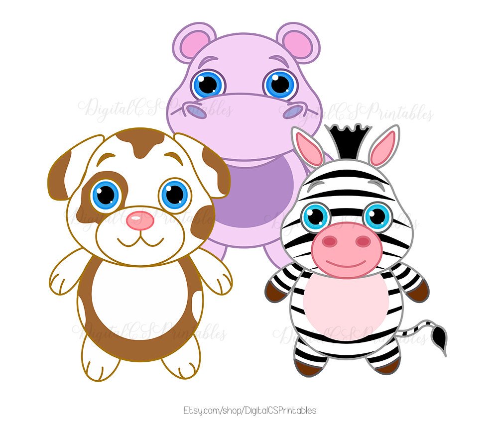 1000x850 Cute Animal Clipart Cute Clipart Safari Animal Clipart Kids