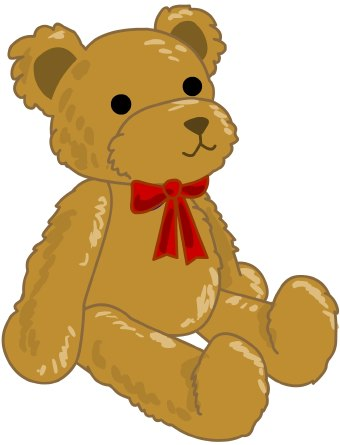 340x445 Stuffed Animal Clipart Child Toy