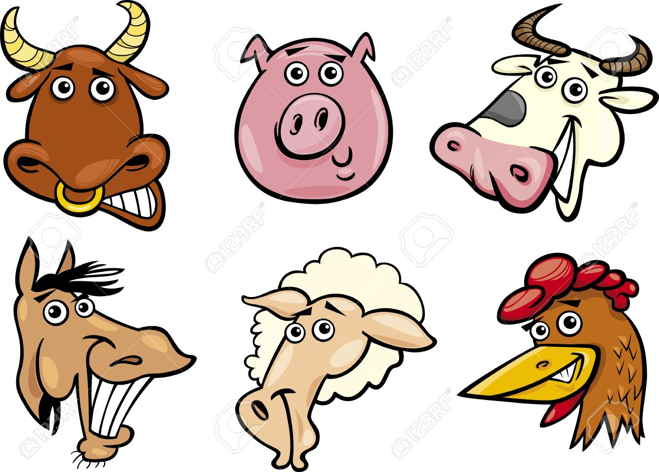 1300x931 Farm Animals Clipart Images Images On Page 0 Yanhe Clip Art
