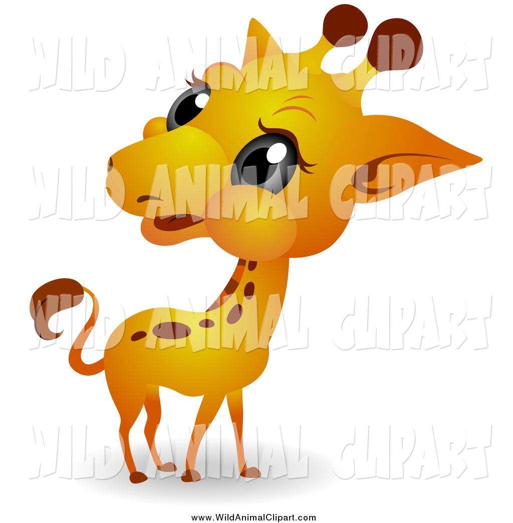 1024x1044 Clip Art Of A Big Head Baby Giraffe By Bnp Design Studio