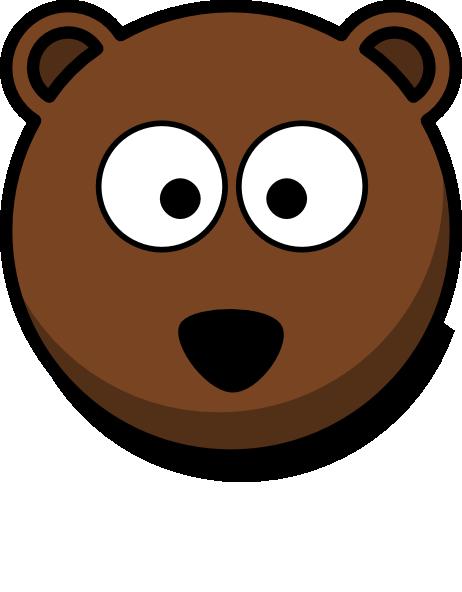 462x592 Cartoon Bear Face Cartoon Bear Head Clipart Clip Art For Students