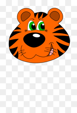 260x380 Tiger Cartoon Png And Psd Free Download