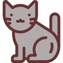 256x256 Cat, Pet, Animals, Animal Kingdom Icon