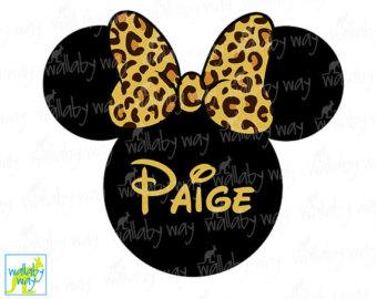 340x270 Disney Safari Minnie Printable Iron On Transfer Or Use As Clip
