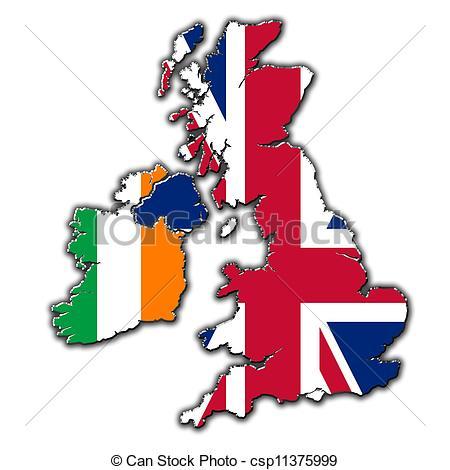 450x470 United Kingdom Clipart