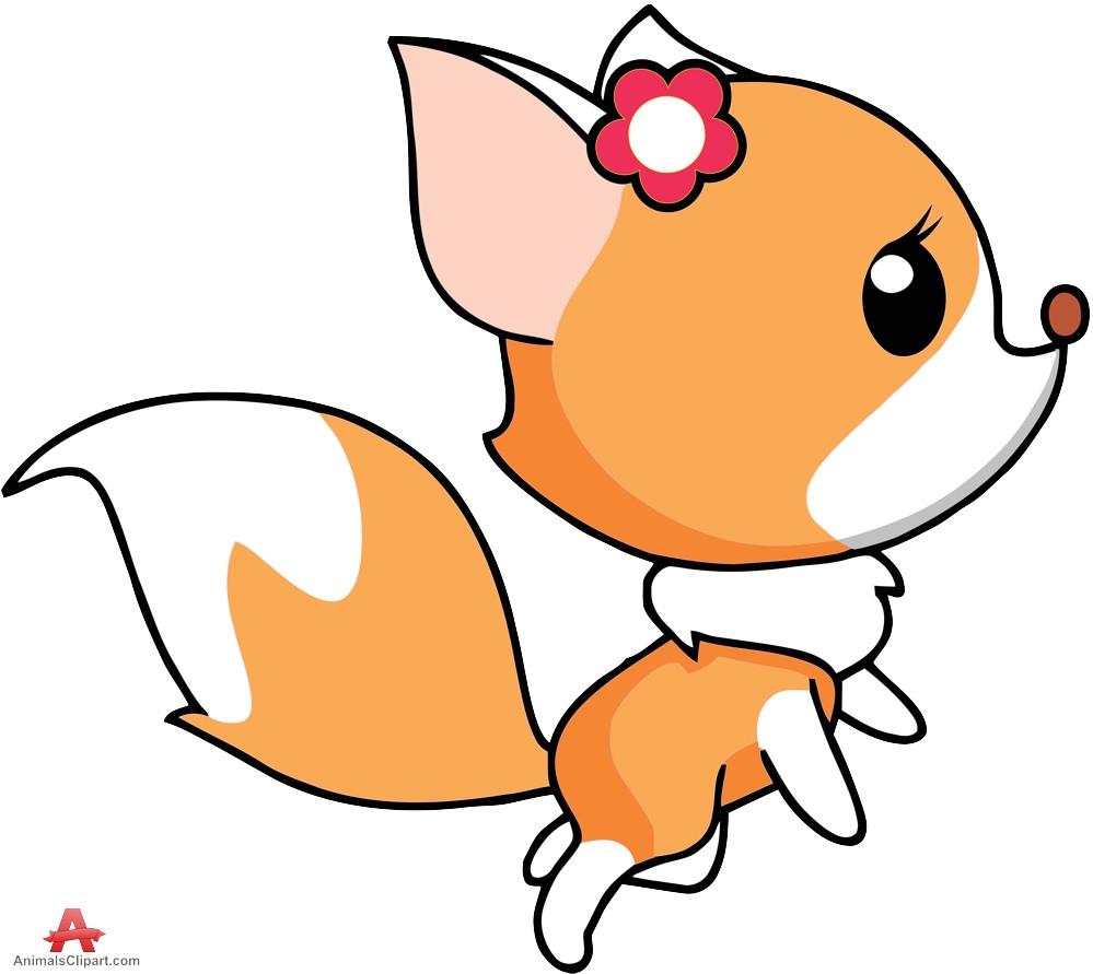 999x891 Clip Art Clip Art Of A Fox
