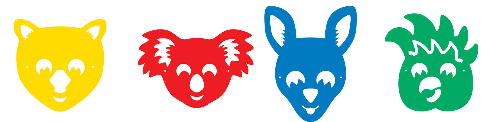 1600x406 Mask Clipart Kangaroo Free Collection Download And Share Mask