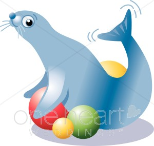 300x285 Top 89 Seal Clip Art